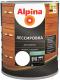 Защитно-декоративный состав Alpina Лессировка (2.5л, бесцветный) -