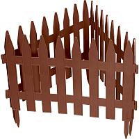 Изгородь декоративная Palisad Рейка 65007 (терракот) -