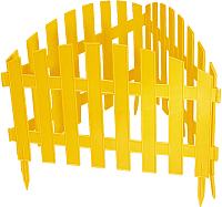 Изгородь декоративная Palisad Винтаж 65010 (желтый) -