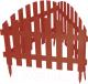 Изгородь декоративная Palisad Винтаж 65015 (терракот) -
