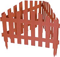 Изгородь декоративная Palisad Марокко 65032 (терракот) -
