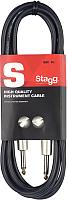 Кабель гитарный Stagg SGC6 DL -