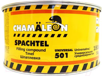 Шпатлевка автомобильная CHAMALEON Среднезернистая 15016 (1.85кг)