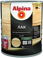 Лак Alpina Для деревянных полов (2.5л, шелковисто-матовый) -