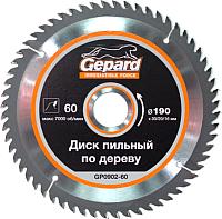 Пильный диск Gepard GP0902-60 -