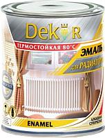 Эмаль Dekor Для радиаторов отопления (1.8кг, алкид) -
