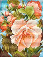 Набор для вышивания БЕЛОСНЕЖКА Роза / 6019-14 -