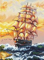 Набор для вышивания БЕЛОСНЕЖКА Под парусами / 995-14 -
