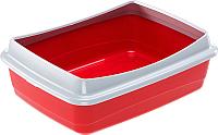 Туалет-лоток Ferplast Nip Plus 10 / 72041029PA (красный) -
