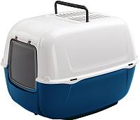 Туалет-домик Ferplast Prima / 72053015PA (синий) -