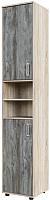 Шкаф-пенал SV-мебель Прихожая Визит 1 (дуб сонома/сосна джексон) -
