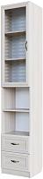 Шкаф-пенал с витриной SV-мебель Вега ДМ-05 (сосна карелия) -