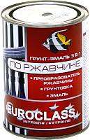 Краска декоративная Euroclass По ржавчине RAL 7004 (900г, светло-серый) -