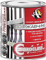Краска декоративная Euroclass По ржавчине RAL 7004 (1.9кг, светло-серый) -