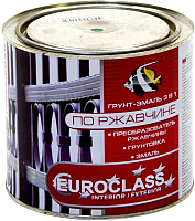 Краска декоративная Euroclass По ржавчине RAL 6005 (1.9кг, темно-зеленый) -