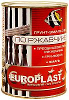 Краска декоративная Euroclass По ржавчине RAL 8017 (900г, шоколадный) -