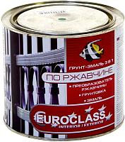 Краска декоративная Euroclass По ржавчине RAL 8017 (1.9кг, шоколадный) -