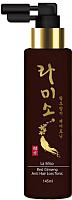 Тоник для волос La Miso Против выпадения с экстрактом красного женьшеня (145мл) -