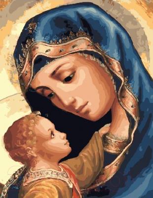 Картина по номерам Picasso Дева Мария и Иисус (PC4050497)