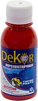 Колеровочная паста Dekor №14 (100г, барбарис) -