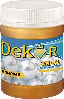 Эмаль Dekor Акриловая перламутровая (230г, золото) -