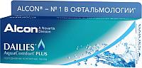 Контактная линза Dailies Aqva Comfort Plus Sph-2.50 R8.7 D14.0 -
