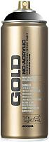 Краска декоративная Montana Gold T9000 Transparent Black / 285899 (400мл) -