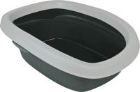 Туалет-лоток Trixie Carlo 1 40111 (серый/светло-серый) -