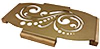 Подставка под горячее GALA PG012 (золото) -