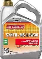 Моторное масло Ardeca Synth-MS 5W30 / P01051-ARD004 (4л) -