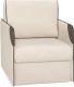 Кресло мягкое Rivalli Марсель NEXT с ППУ (Lounge 02 Domus taupe) -