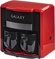 Капельная кофеварка Galaxy GL 0708 (красный) -