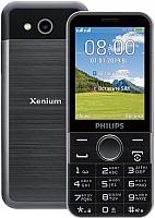 Мобильный телефон Philips Xenium E580 (черный) -