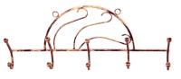 Вешалка для одежды Грифонсервис Волна ВШ3 (бронза) -