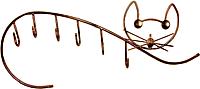 Вешалка для одежды Грифонсервис Кот ВШ4 (бронза) -
