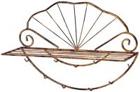Вешалка для одежды Грифонсервис Ракушка ВШ9 (бронза) -