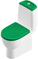 Унитаз напольный Sanita Luxe Best Color Green SL DM -