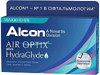 Контактная линза Air Optix HydraGlyde Sph-3.75 R8.6 D14.2 -