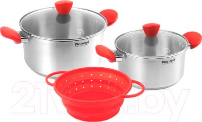 Набор кухонной посуды Rondell RDS-1003 набор посуды rondell rds 1003