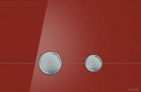 Кнопка для инсталляции Cersanit Stero P-BU-STE/Rdg/Gl (красный глянец) -