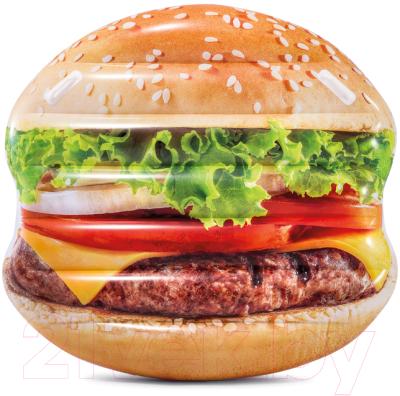 Надувной плот Intex Гамбургер / 58780EU