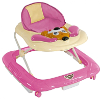 Ходунки Lorelli Dog EB Pink (10120280909) -