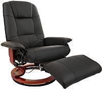 Массажное кресло Calviano 2161 с пуфом -