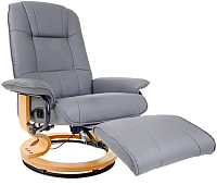 Массажное кресло Calviano 2158 с пуфом -