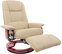 Массажное кресло Calviano 2160 с пуфом -