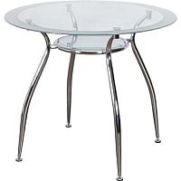 Обеденный стол Седия Finezia (хром/стекло) -