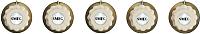 Набор ручек управления для варочной поверхности Smeg 5MP700PO -