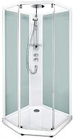 Душевая кабина IDO Comfort 10-5 90x90 (белый, прозрачное стекло) -