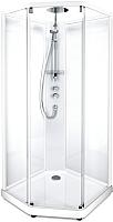 Душевая кабина IDO Comfort 10-5 100x100 (белый, прозрачное стекло) -