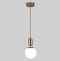 Потолочный светильник Евросвет Bubble 50151/1 (латунь) -